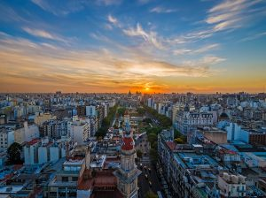 Panoramic view of Buenos Aires