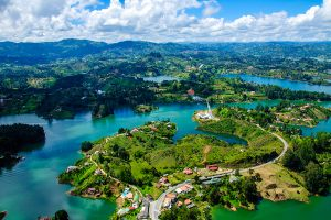 Rock of Guatape, Medellin