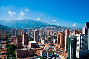 Panoramic view, Medellin