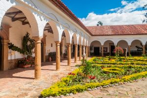 Courtyard of a Convent near Villa de Leyva