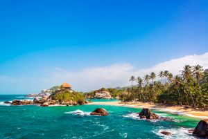 beach of San Juan del Guia, Tayrona National Park