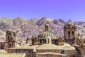 Rooftops in Cusco