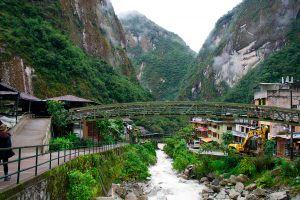 Aguas Calientes River
