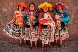 Cusco, traditional costumes