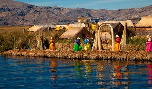 Islands of lake Titicaca, Puno