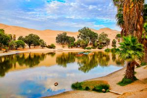 Oasis of Huacachina, Ica region