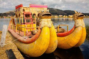 Islas es los Uros, Lake Titicaca