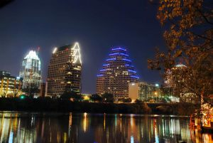 austin - texas downtown city