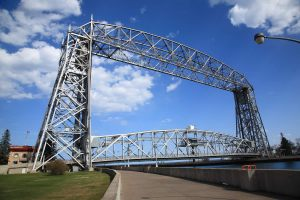 aerial lift bridge - duluth