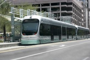 light metro rail train - phoenix