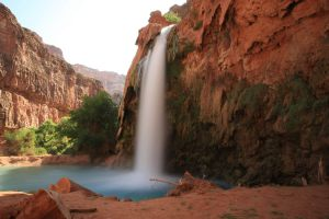 cascata nel grand canyon