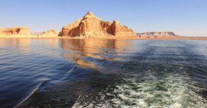 lake powell in glen canyon