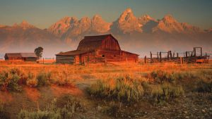 grand teton mountains - wyoming