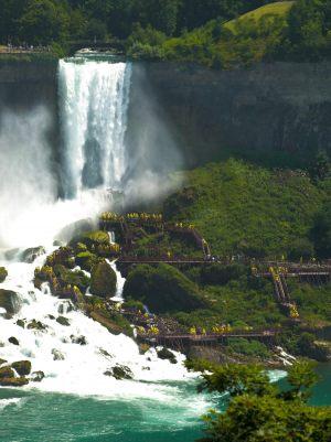cascate del niagara - lato