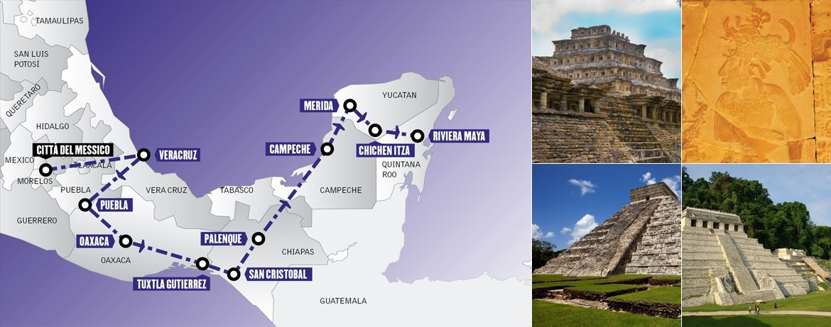 Tour Messico: Caminos de Mexico