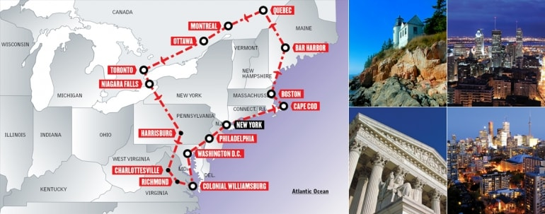 Tour Stati Uniti in auto: American Historic Highways