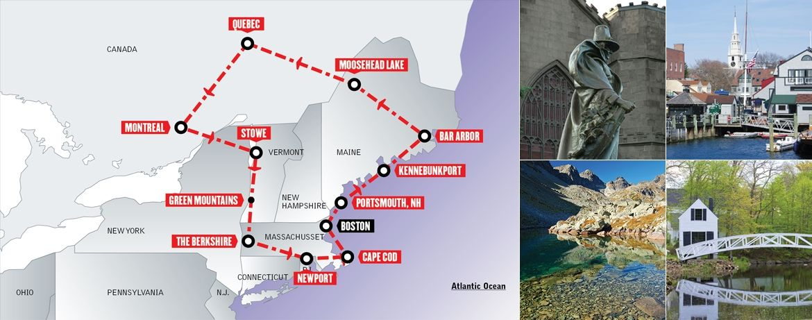 Tour Stati Uniti in auto: Best of New England & Quebec