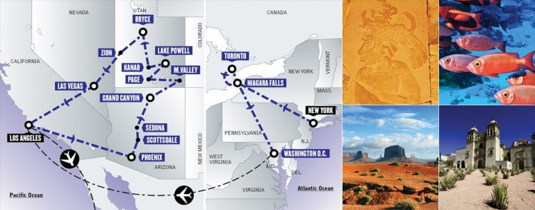 East West Adventure + Gran Tour del Messico